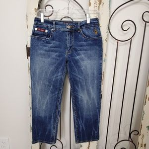 Baby Phat cropped jeans size 7